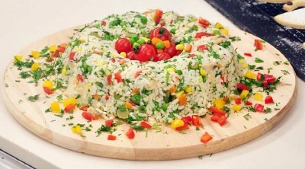 Kanaltürk 5 Çayı Pirinç Salatası Tarifi 19.04.2015