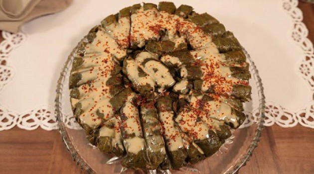 Nursel'in Mutfağı Tahinli Yaprak Sarması Tarifi 05.06.2015