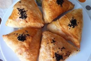Fırında Mercimekli Muska Böreği Tarifi