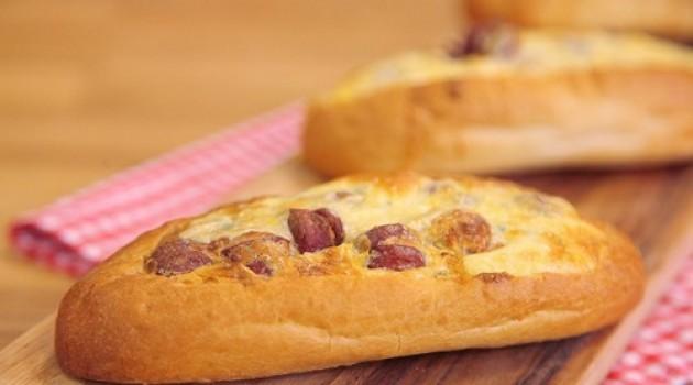 Arda'nın Mutfağı Sosis Dolgulu Ekmek Tarifi 08.03.2015