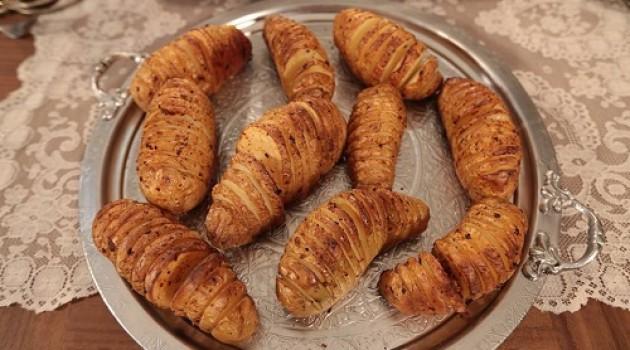 Nursel'in Mutfağı Fırında Dilimlenmiş Patates Tarifi 01.04.2015