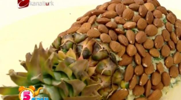 Kanaltürk 5 Çayı Ananaslı Tavuklu Salata Tarifi 05.07.2015