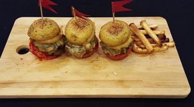 Tv8 Ver Fırına Mert Şen'in Patates Hamburger Tarifi 19.10.2015