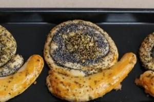 Trt 1 Pastane Salyangoz Şeklinde Kurabiyeler Tarifi 15.10.2015
