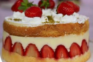 Trt 1 Pastane Çilekli Pasta Tarifi 04.11.2015