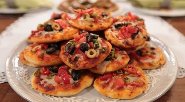 Nursel'in Mutfağı Mini Pizza Tarifi 28.12.2015