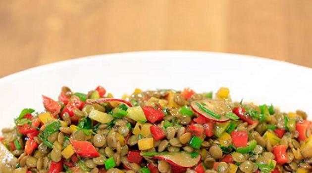 Arda'nın Mutfağı Mercimek Salatası Tarifi 17.01.2016
