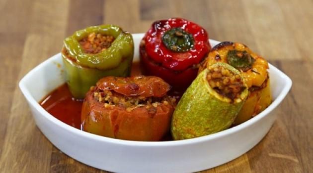 Arda'nın Mutfağı Fırında Bulgurlu Dolma Tarifi 19.03.2016