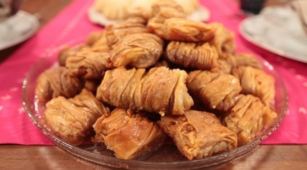 Nursel'in Mutfağı Çay Saati Menüsünden Kırma Baklava Tarifi 18.03.2016