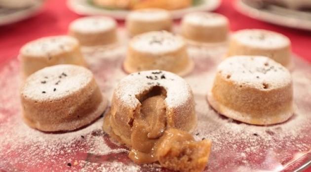 Nursel'in Mutfağı Çay Saati Menüsü'nden Tahinli Beyaz Çikolatalı Sufle Tarifi 28.03.2016