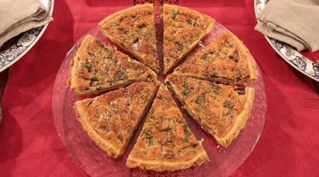 Nursel'in Mutfağı Çay Saati Menüsünden Mantarlı Kiş Tarifi 04.05.2016