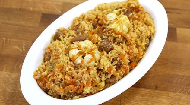 Arda'nın Ramazan Mutfağı Özbek Pilavı Tarifi 20.06.2016
