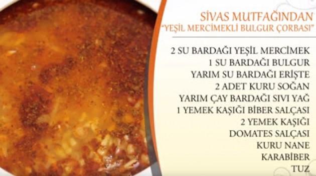 Nursel İle Ramazan Sofrası Yeşil Mercimekli Bulgur Çorbası Tarifi 29.06.2016