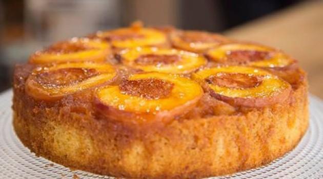 Arda'nın Mutfağı Şeftalili Tersyüz Kek Tarifi 25.09.2016