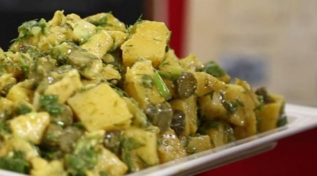 Nursel'in Evi Avakadolu Patates Salatası Tarifi 22.09.2016