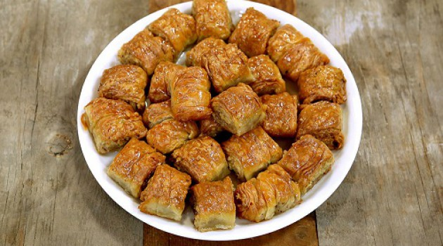 Arda'nın Mutfağı Burma Tatlısı Tarifi 19.11.2016