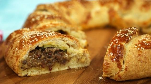 Arda'nın Mutfağı Cheeseburger Halkası Tarifi 19.03.2017