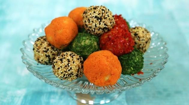 Arda'nın Mutfağı Renkli Patates Topları Tarifi 19.03.2017