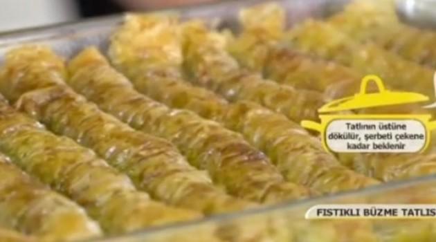 Pelin Karahan'la Nefis Tarifler Fıstıklı Büzme Tarifi 03.11.2017