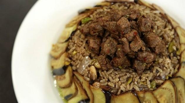 Arda'nın Mutfağı Patlıcanlı Antep Fıstıklı Pilav Tarifi 11.11.2017