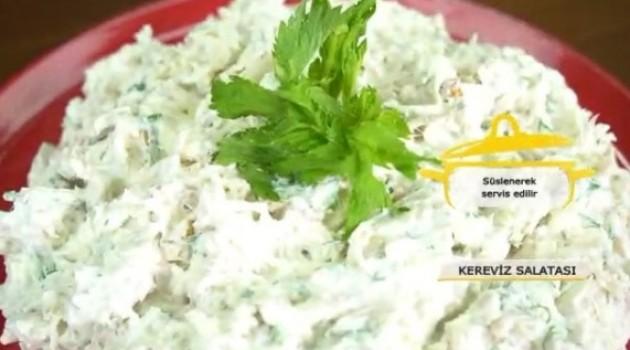 Pelin Karahan'la Nefis Tarifler Tavuklu Kereviz Salatası Tarifi 04.12.2017