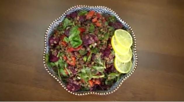 Pelin Karahan'la Nefis Tarifler Mercimekli Semizotu Salatası Tarifi 07.12.2017