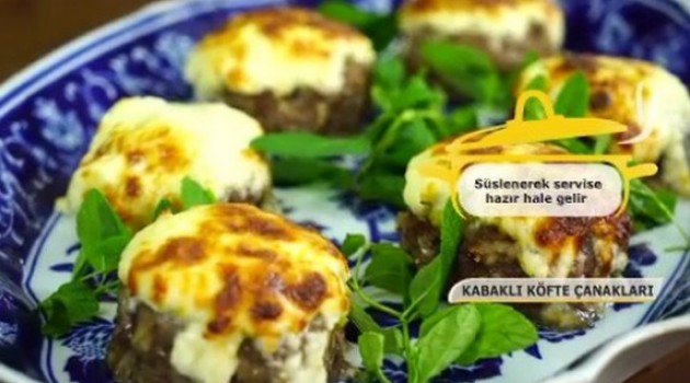 Pelin Karahan'la Nefis Tarifler Köfteli Kabak Çanakları Tarifi 16.01.2018