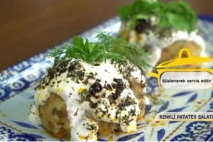Pelin Karahan'la Nefis Tarifler Renkli Patates Salatası Tarifi 15.01.2018