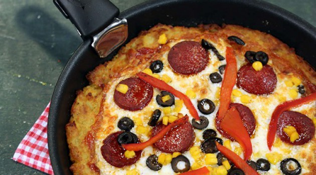 Arda'nın Mutfağı Patates Tabanlı Pizza Tarifi 14.04.2018