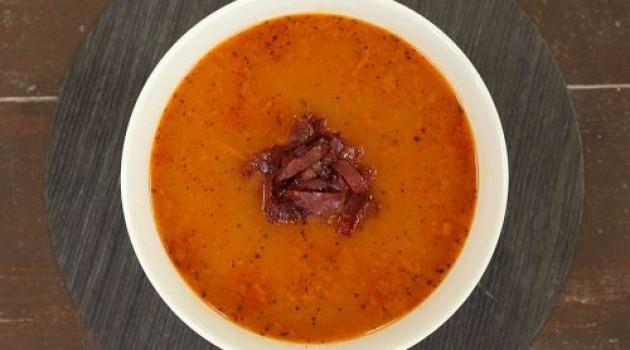 Arda'nın Ramazan Mutfağı Pastırmalı Tarhana Çorbası Tarifi 12.06.2018