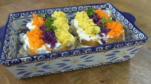 Pelin Karahan'la Nefis Tarifler Bayat Ekmek Salatası  Tarifi 24.10.2018