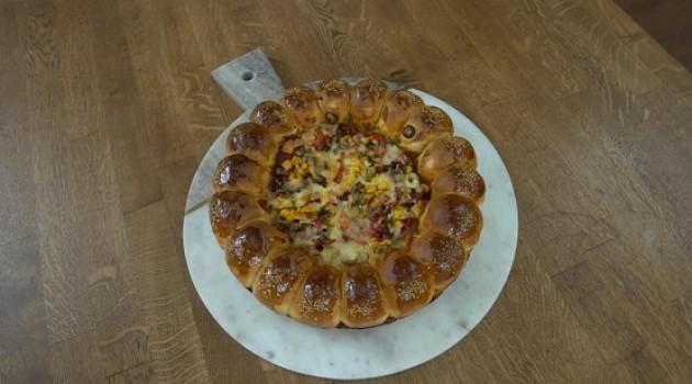 Pelin Karahan'la Nefis Tarifler Çiçek Pizza Tarifi 03.10.2018