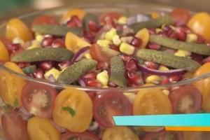 Trt 1 Misafirim Var Yayla Salatası Tarifi 30.10.2018