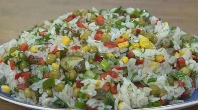 Pelin Karahan'la Nefis Tarifler Pirinç Salatası  Tarifi 20.11.2018