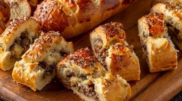 Arda'nın Mutfağı Kıymalı Ekmek Tarifi 26.01.2019