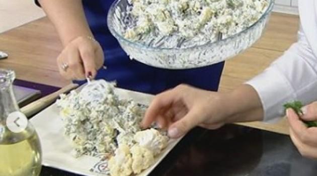Zahide Yetiş'le Karnabaharlı Patates Salatası Tarifi 01.01.2019