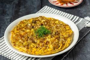 Arda'nın Mutfağı Patatesli Soğanlı Omlet Tarifi 16.02.2019