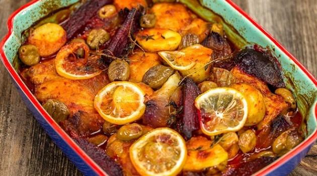 Arda'nın Mutfağı Sebzeli Tavuk Güveç Tarifi 02.03.2019