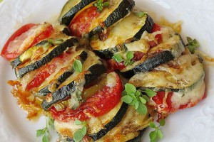 Gelinim Mutfakta Fırında Zeytinyağlı Sebze Kebabı Tarifi 16.05.2019