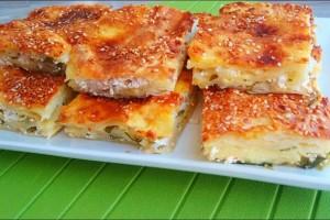 Pelin Çift İle İyi Fikir Peynirli Kuru Yufka Böreği Tarifi 29.05.2019