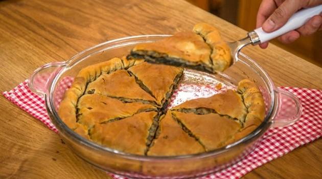 Arda'nın Ramazan Mutfağı  Ispanaklı Mantarlı Göbete Tarifi 10.05.2019