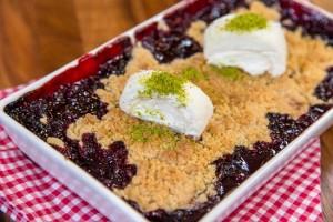 Arda'nın Ramazan Mutfağı Vişneli Crumble Tarifi 13.05.2019