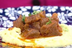 Gelinim Mutfakta Püreli Tas Kebabı  Tarifi 16.10.2019