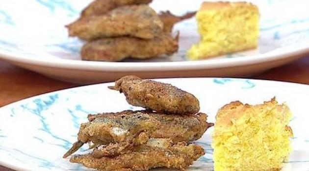 Gelinim Mutfakta Mısır Ekmeği ve Hamsi Kuşu  Tarifi 04.11.2019