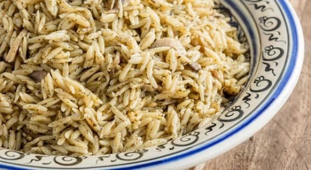 Arda'nın Mutfağı Mantarlı Arpa Şehriye Pilavı Tarifi 15.02.2020