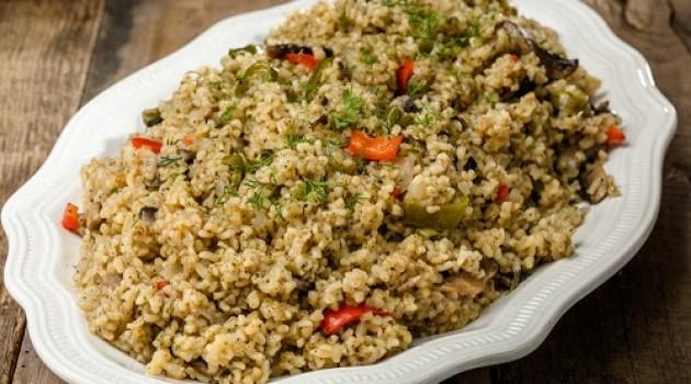Arda'nın Ramazan Mutfağı Sebzeli Bulgur Pilavı Tarifi 29.04.2020