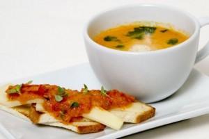 Hazer Amani İle Mutfakta Buluşalım Köz Biberli Domates Çorbası Tarifi 15.10.2020