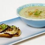 Hazer Amani İle Mutfakta Buluşalım Patlıcanlı Humus Çorbası Tarifi 15.10.2020