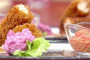 Gelinim Mutfakta Kadayıfa Sarılı Çıtır Tavuk Tarifi 15.10.2020