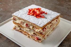 Gelinim Mutfakta Karışık Meyveli Milföy Pasta Tarifi 09.10.2020